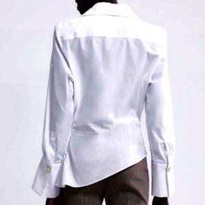 Zara Tops - 💟 NWT Zara White Poplin Blouse 💟